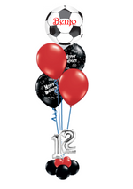 Sheffield United Football Theme balloon bouquet