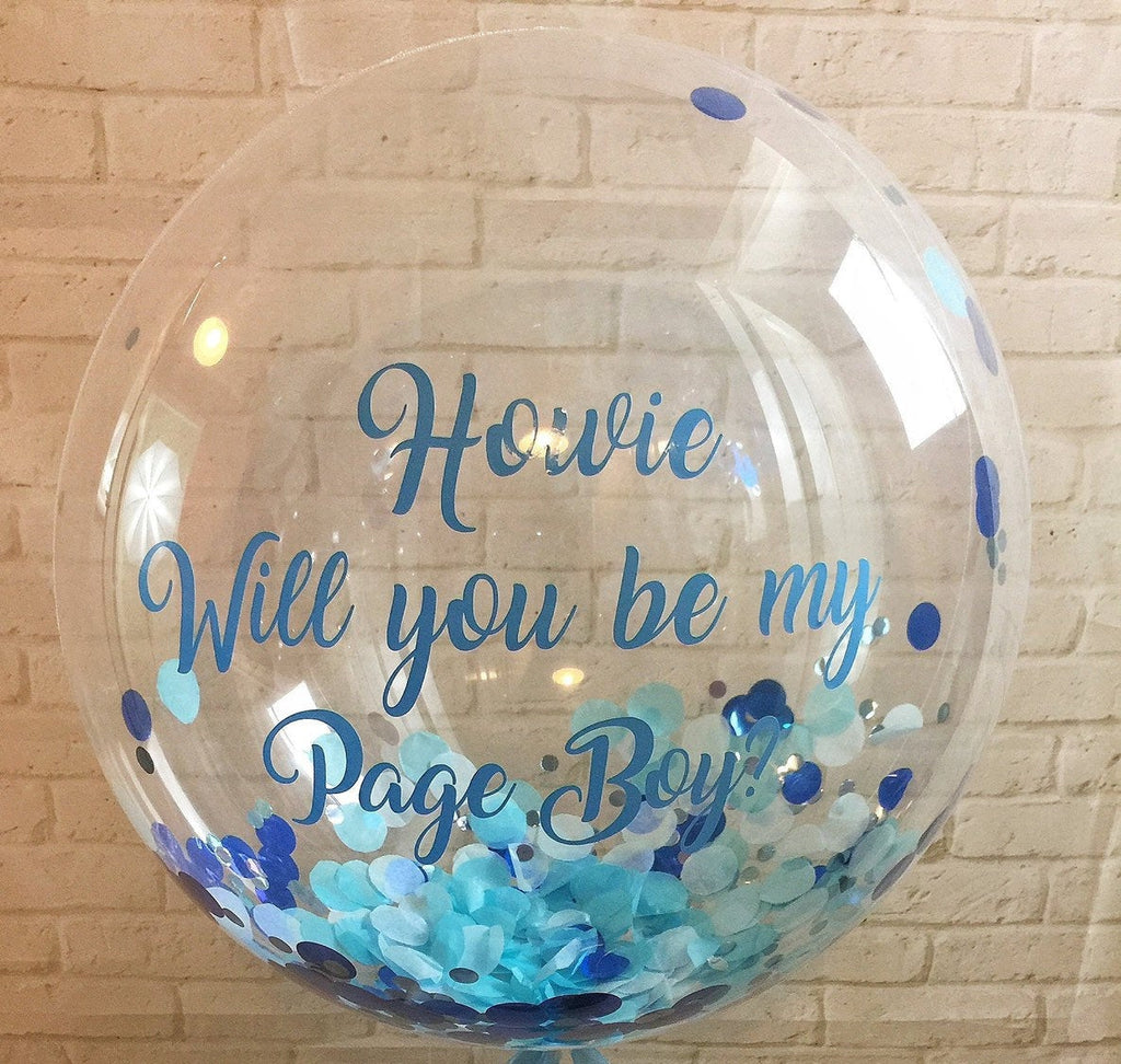 Page Boy Proposal Balloon