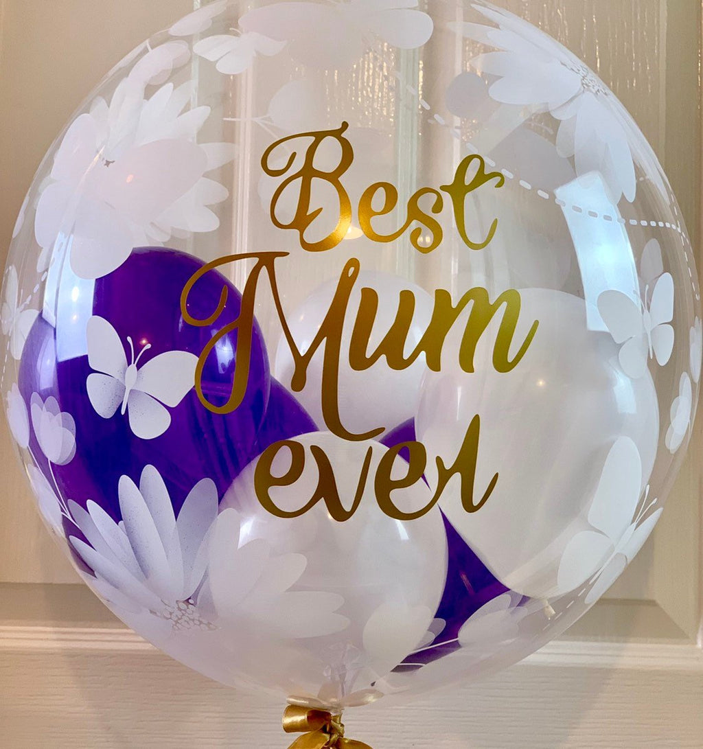 Personalised Balloon gift for mum