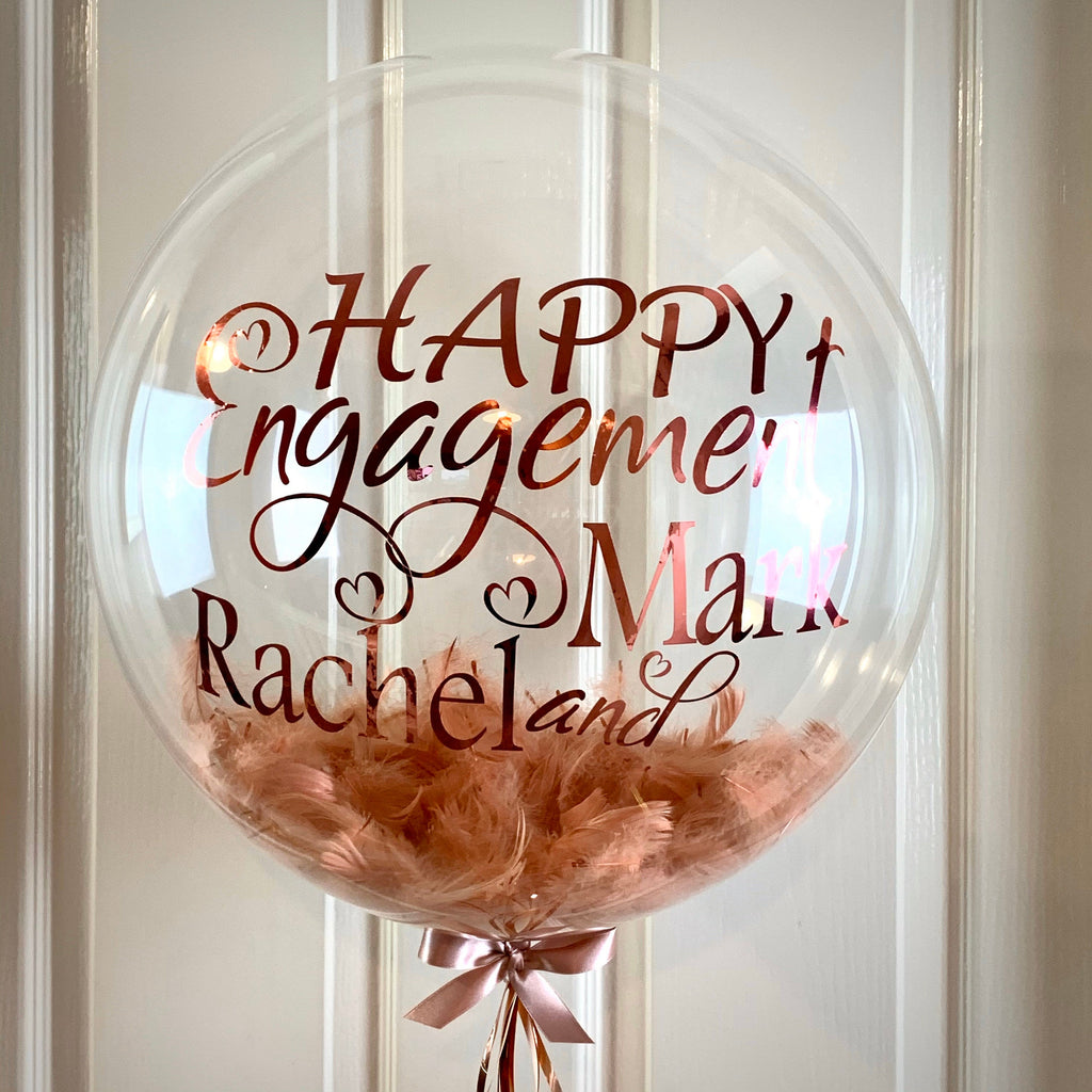 Engagement Balloon Gift