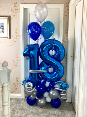 Birthday number Display