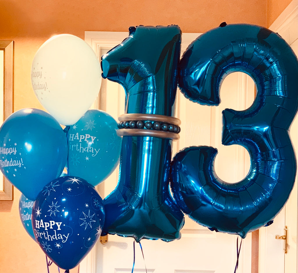 Large Birthday Number Display Decor Package