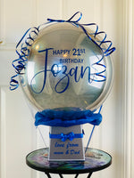 Personalised Orb Balloon with Money Surprise Gift