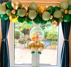 Safari/Jungle Theme Balloon Decor