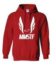 Load image into Gallery viewer, MMSTF Red Hooded Sweatshirt