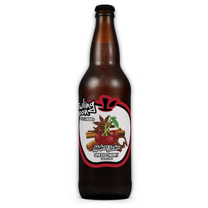 Maker's Series Spiced Cherry Howling Moon Craft Cider, made from heritage apples in Oliver BC