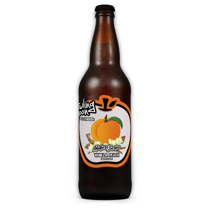 Vanilla Peach Craft Cider