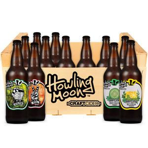Cider Subscription Dry Craft Cider Community Box from Howling Moon Craft Cider in Kelowna BC