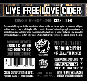 Whiskey Barrel Craft Cider