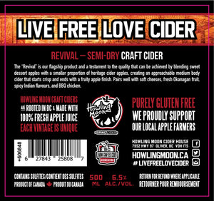 Revival Semi-Dry Craft Cider
