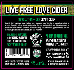 Revolution Dry Craft Cider