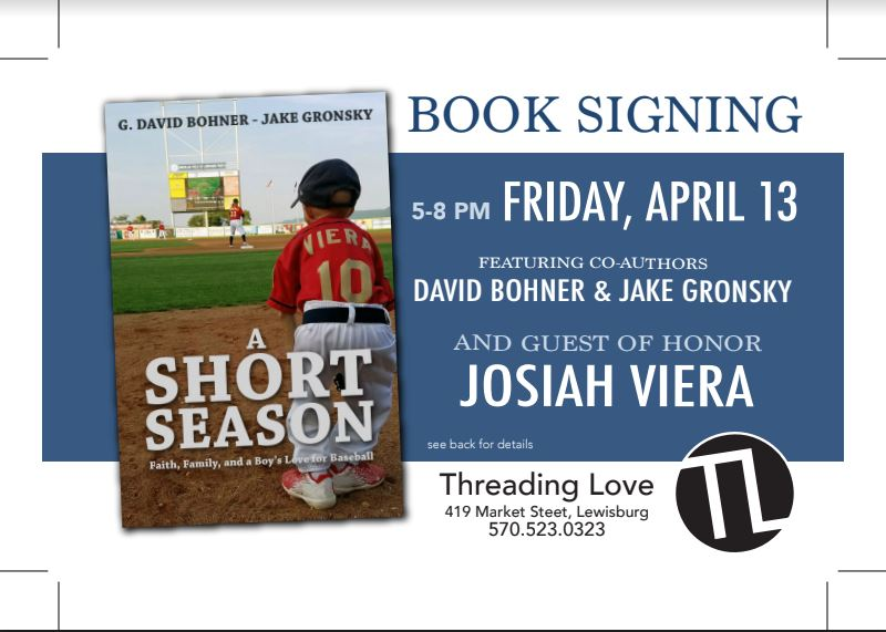"Threading Love to host the authors of ""A Short Season"""