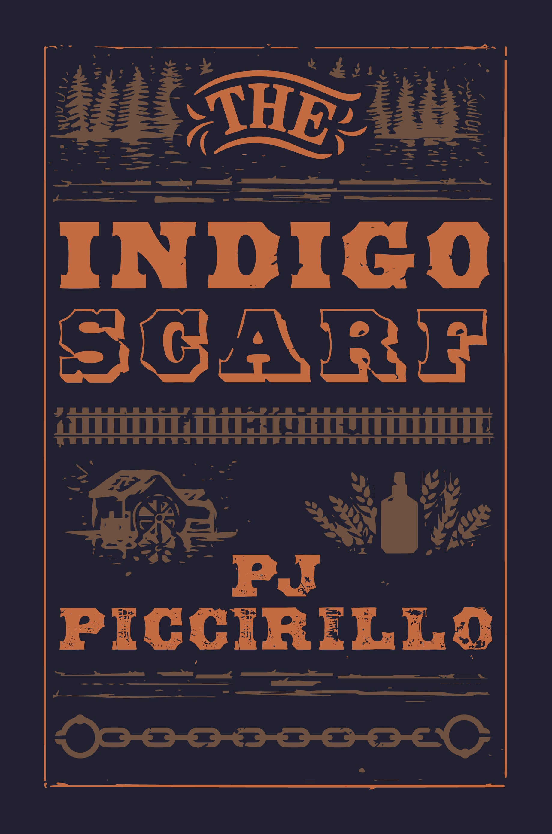 "PJ Piccirillo's ""The Indigo Scarf"" is the Brown Posey Press bestseller for July"