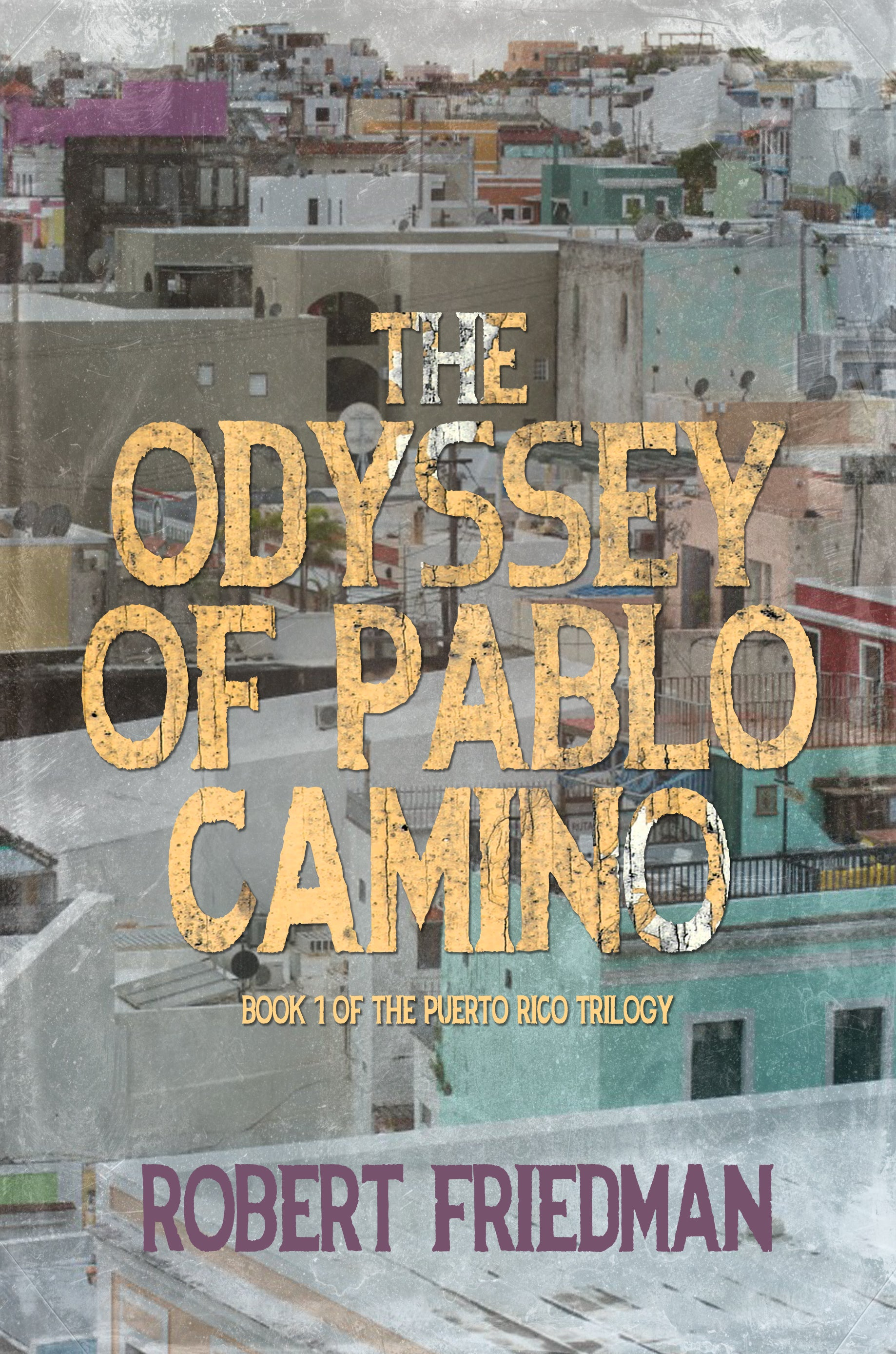 "Robert Friedman's ""The Odyssey of Pablo Camino"" is the Brown Posey Press bestseller for May"