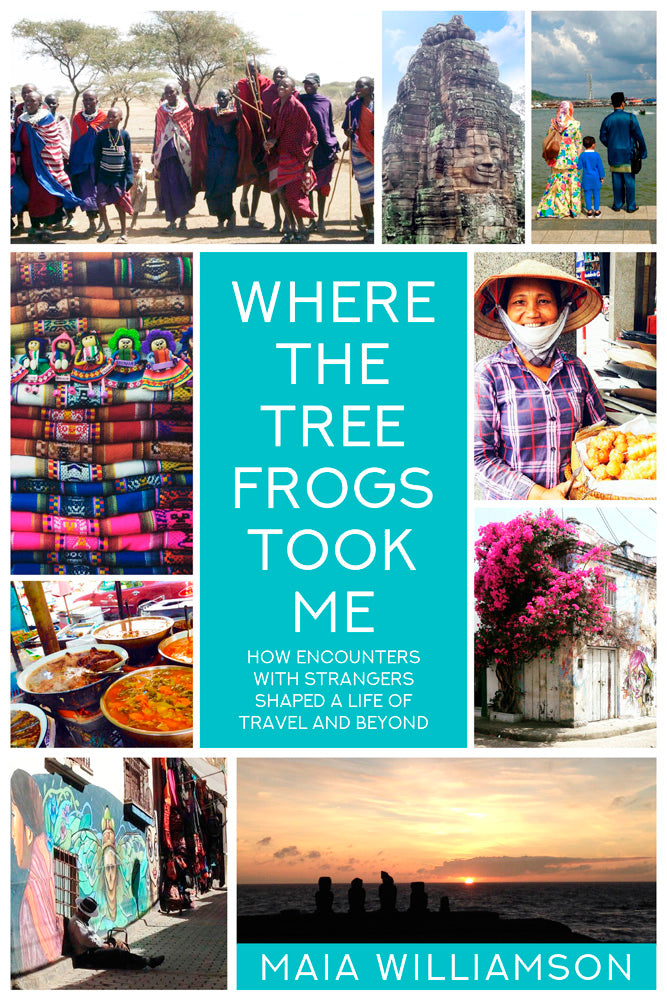 "Maia Williamson's ""Where the Tree Frogs Took Me"" is the Brown Posey Press bestseller for January"