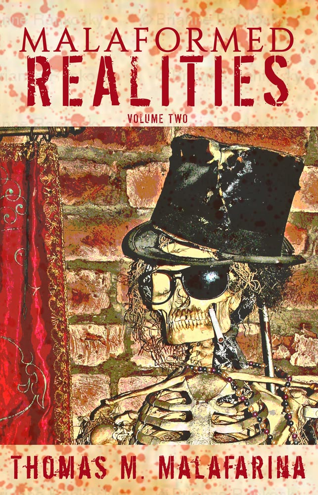 "Thomas Malafarina's ""Malaformed Realities Volume 2"" is #1 at Hellbender Books for February"