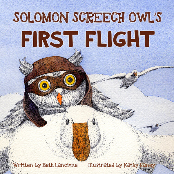 "Beth Lancione's ""Solomon Screen Owl's First Flight"" is the Speckled Egg Press bestseller for November"