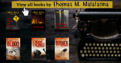 Clickable way to view all of thomas m malafarina's books