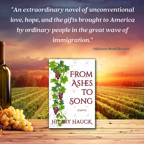 From Ashes to Song by hilary hauck book review from midwest book review