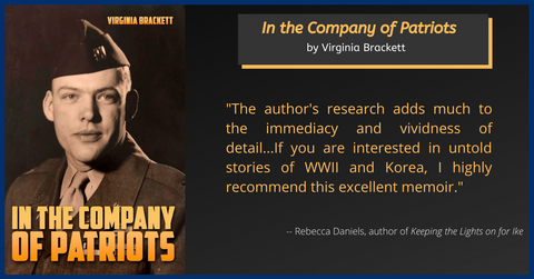 Book review of In the Company of Patriots by Virginia Brackett