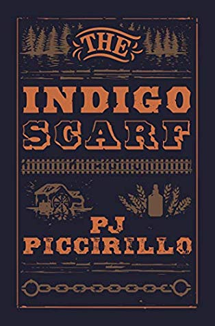 Book cover for the Indigo Scarf as used for Black History Month blog post