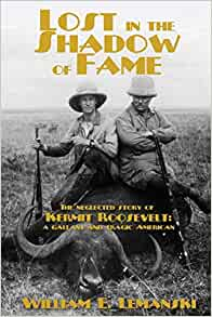 book cover lost in the shadow of fame a biography roosevelt
