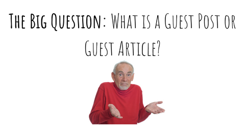What is a guest post or guest article tips