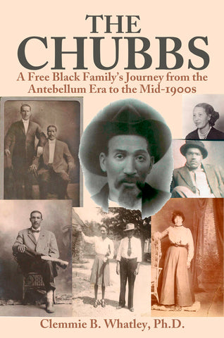 Book cover for The Chubbs by Clemmie Whatley for Black History Month