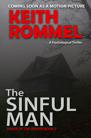 the sinful man by keith rommel book cover