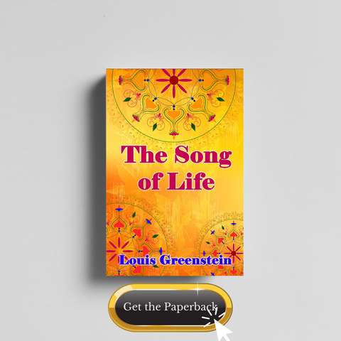 The Song of Life by Louis Greenstein Paperback photo