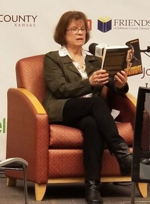 Author Virginia Brackett reading her book In the Company of Patriots