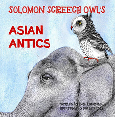 Solomon Screech Owl's Asian Antics