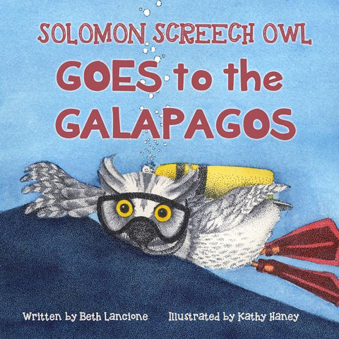 Solomon Screech Owl Goes to the Galapagos