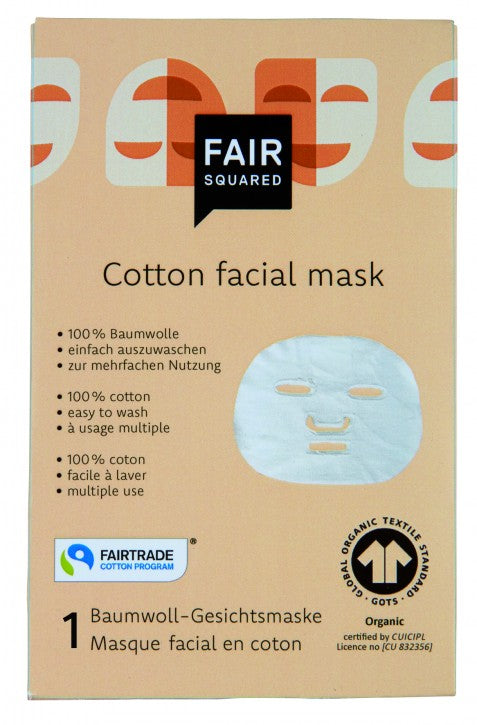 FAIR SQUARED  - cotton face-mask