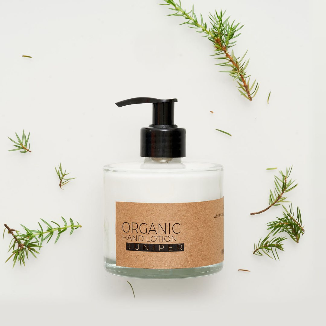 Juniper organic hand lotion