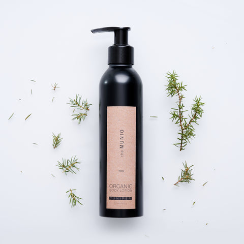 Juniper organic body lotion