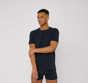 Organic Cotton T- shirt Navy