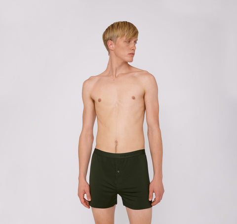 TENCEL™ Lite Boxer Shorts Dark Green