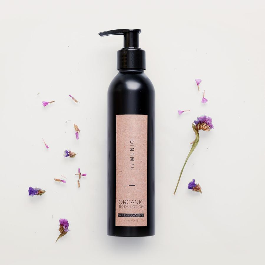 Wild Flower Organic Body Lotion