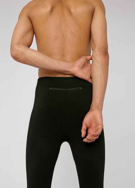SilverTech™ Active Men's Running Tights Black
