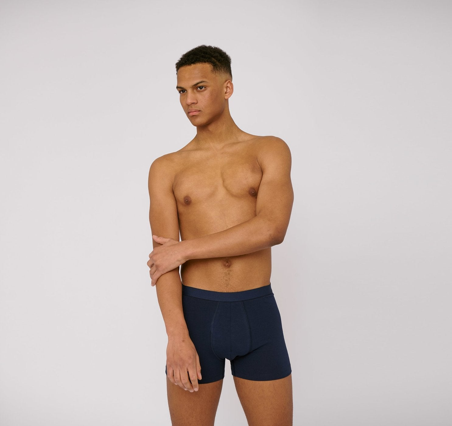 Organic Cotton Boxers 2-pack Navy