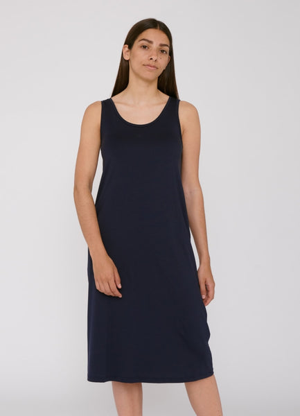 TENCEL™ Lite Dress Navy