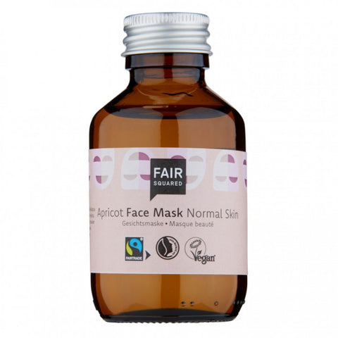 FAIR SQUARED Facial Mask Fluid Apricot - Normal Skin 100 ml ZERO WASTE