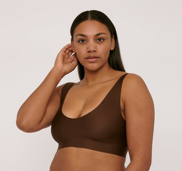 Invisible Bra Walnut