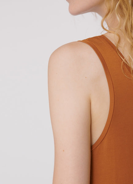 TENCEL™ Lite Dress Ocher