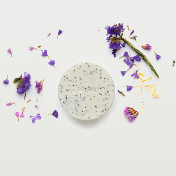 Wild flowers organic scrub soap bar