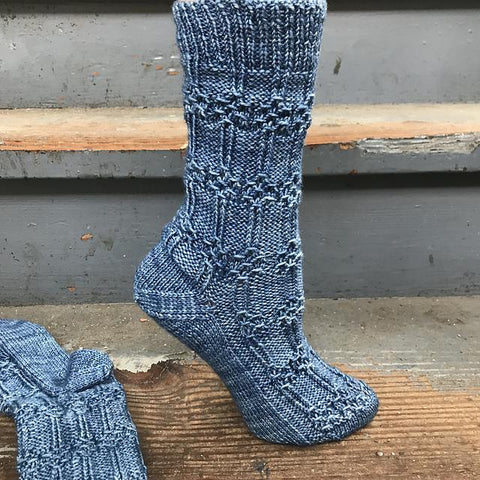 Hildur sock pattern (printed or PDF pattern)
