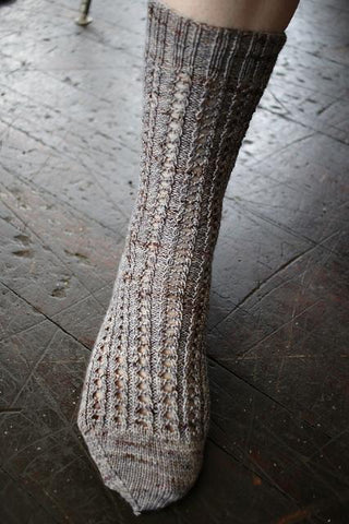 Grainne sock pattern (printed or PDF download)