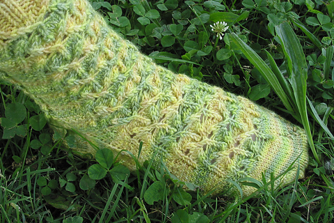 Karira sock pattern (PDF download)