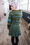 Metis sweater coat pattern (printed or PDF download)